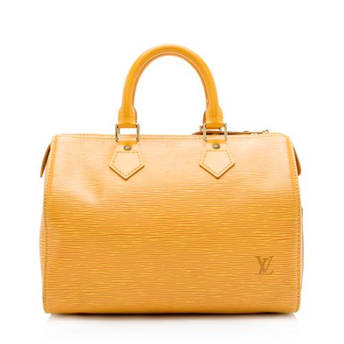 Louis Vuitton Vintage Epi Leather Speedy 25 Satchel