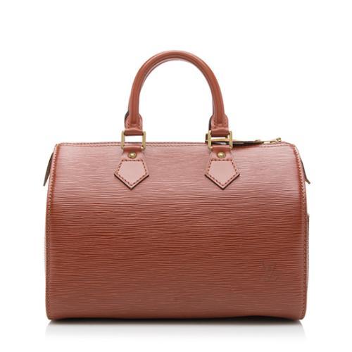 Louis Vuitton Vintage Epi Leather Speedy 30 Satchel