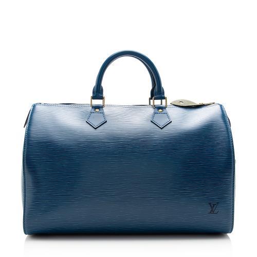 Louis Vuitton Vintage Epi Leather Speedy 35 Satchel