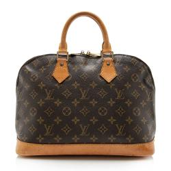Louis Vuitton Vintage Monogram Canvas Alma PM Satchel