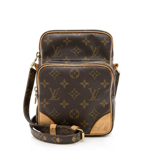 d309a879679275 Louis Vuitton Vintage Monogram Canvas Amazone Messenger Bag