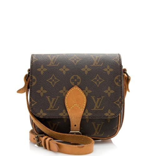 Louis Vuitton Vintage Monogram Canvas Cartouchiere PM Shoulder Bag
