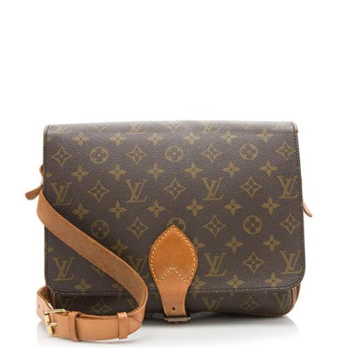 eab0e1b1751c Louis-Vuitton-Vintage-Monogram-Canvas -Cartouchiere-XL-Shoulder-Bag 97386 front large 0.jpg