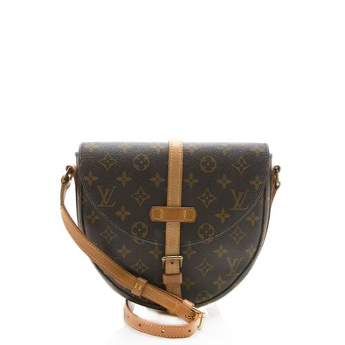 Louis Vuitton Vintage Monogram Canvas Chantilly MM Crossbody Bag - FINAL SALE