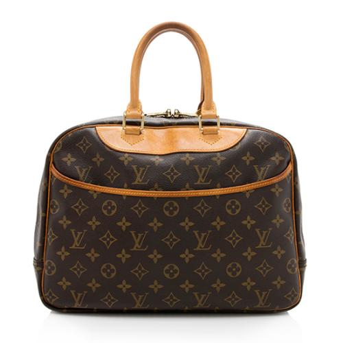 Louis Vuitton Vintage Monogram Canvas Deauville Satchel