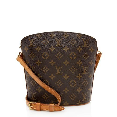 Louis Vuitton Vintage Monogram Canvas Drouot Shoulder Bag