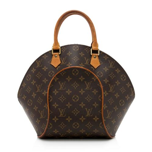 Louis Vuitton Vintage Monogram Canvas Ellipse MM Satchel