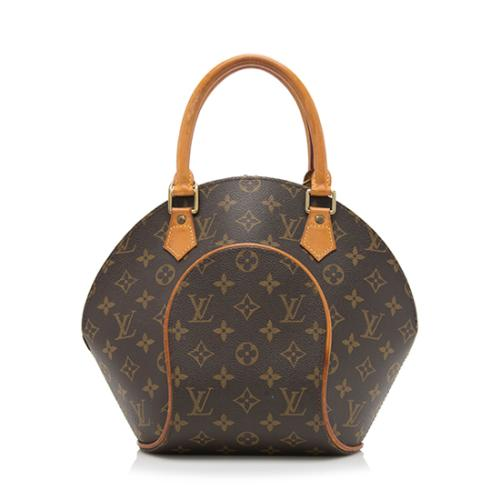 Louis Vuitton Vintage Monogram Canvas Ellipse PM Satchel