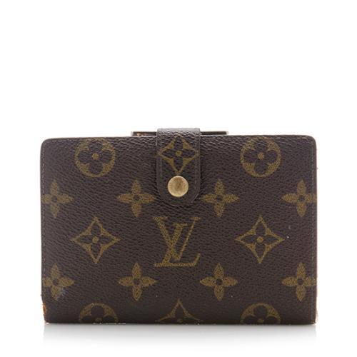 59d68184b5e3 Louis-Vuitton-Vintage-Monogram-Canvas-French-Purse -Wallet 72091 front large 0.jpg