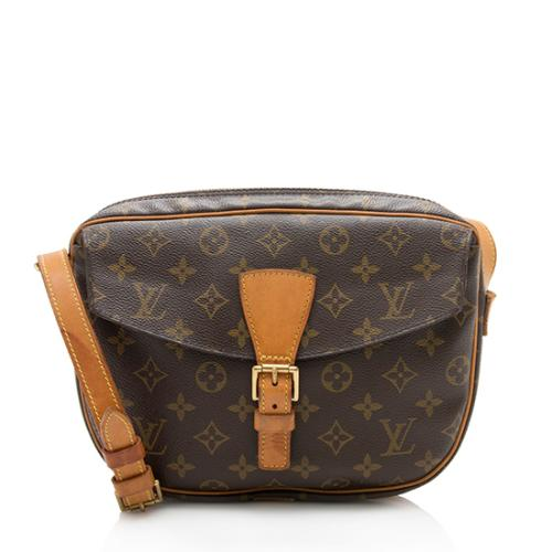 Louis Vuitton Vintage Monogram Canvas Jeune Fille GM Shoulder Bag