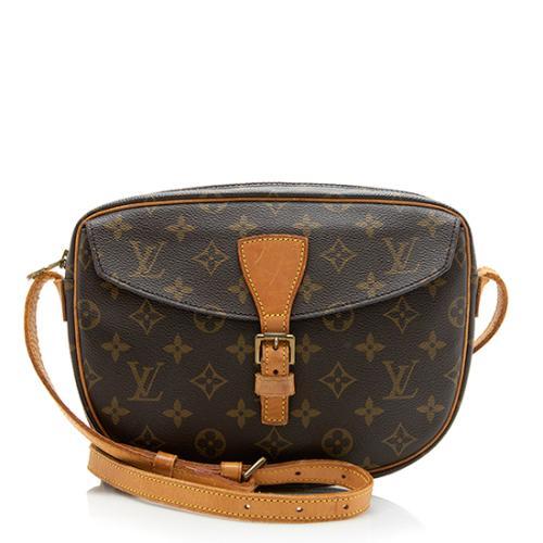 Louis Vuitton Vintage Monogram Canvas Jeune Fille MM Shoulder Bag