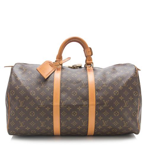 7d1146532f7 Louis-Vuitton-Vintage-Monogram-Canvas-Keepall-50-Duffel-Bag--FINAL-SALE - 83291 front large 0.jpg