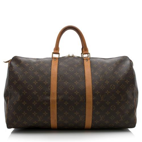 e99e915062a Louis-Vuitton-Vintage-Monogram-Canvas-Keepall-50-Duffel-Bag --FINAL-SALE 88113 front large 0.jpg