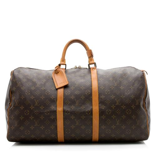 9da740254f59 Louis Vuitton Vintage Monogram Canvas Keepall 55 Duffel Bag