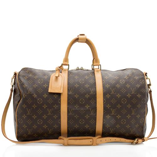 22786b2ced50 Louis-Vuitton-Vintage-Monogram-Canvas-Keepall-Bandouliere-50-Duffle -Bag 98941 front large 0.jpg