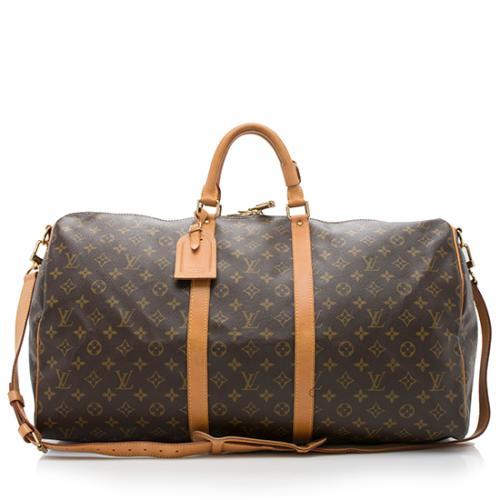 a1e8eecd6717 Louis-Vuitton-Vintage-Monogram-Canvas-Keepall-Bandouliere-55 -Duffel-Bag 93317 front large 0.jpg