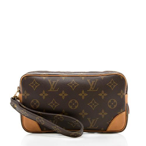 03208eab2 Louis-Vuitton-Vintage-Monogram-Canvas-Marly-Dragonne -PM-Clutch_99112_front_large_0.jpg