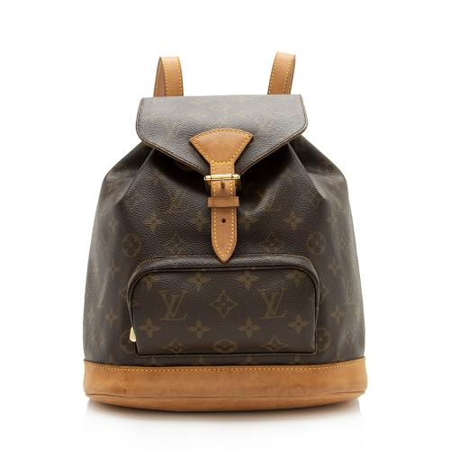 Louis Vuitton Vintage Monogram Canvas Montsouris MM Backpack