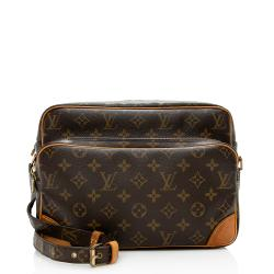 Louis Vuitton Vintage Monogram Canvas Nile MM Messenger Bag