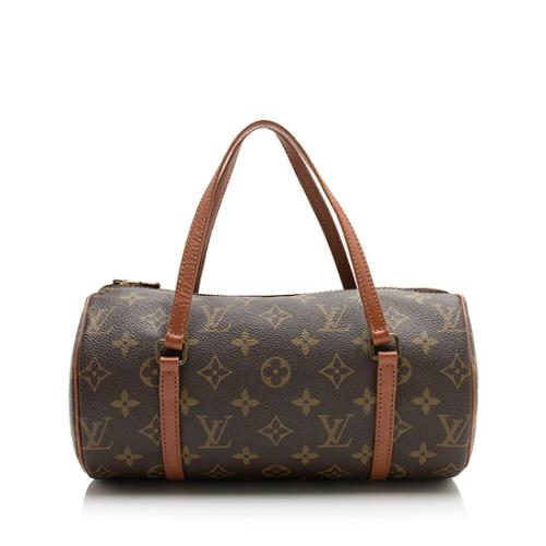 Louis Vuitton Vintage Monogram Canvas Papillon 26 Satchel