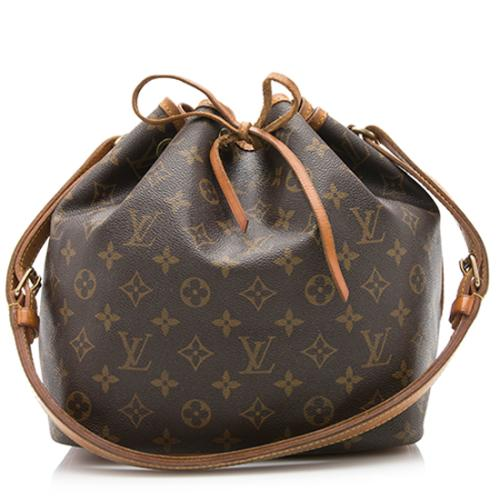 Louis Vuitton Vintage Monogram Canvas Petit Noe Shoulder Bag - FINAL SALE
