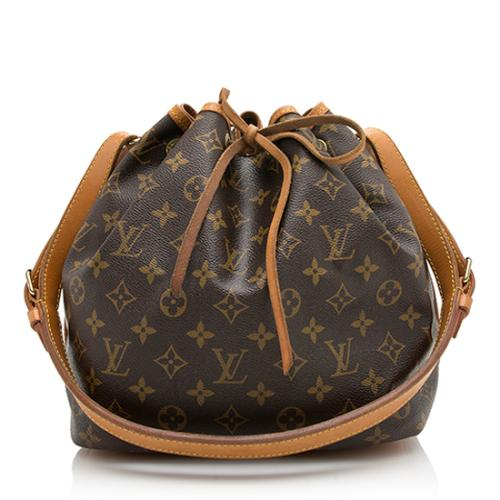 d0234de4944 Louis Vuitton Vintage Monogram Canvas Petit Noe Shoulder Bag