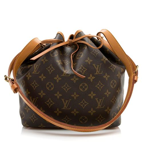 Louis Vuitton Vintage Monogram Canvas Petit Noe Shoulder Bag