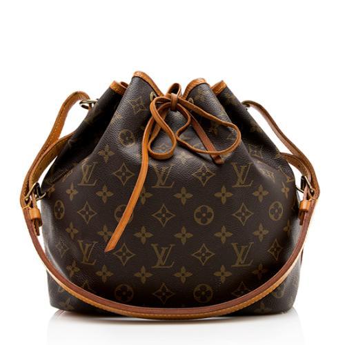 Louis Vuitton Vintage Monogram Canvas Petit Noe Shoulder Bag