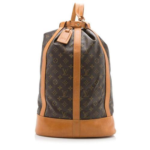 Louis Vuitton Vintage Monogram Canvas Randonnee GM Sling Shoulder Bag