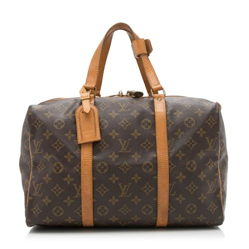 Louis Vuitton Vintage Monogram Canvas Sac Souple 35 Duffel Bag
