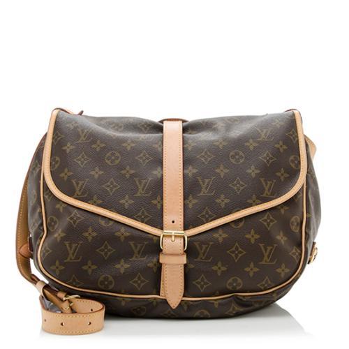 ba70804e495a Louis-Vuitton-Vintage-Monogram-Canvas-Saumur-GM-Messenger -Bag 75594 front large 0.jpg