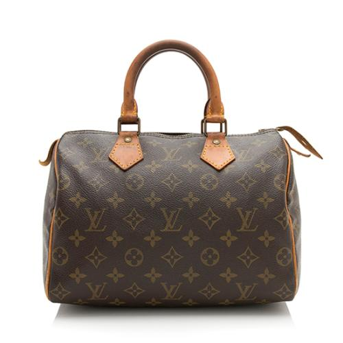Louis Vuitton Vintage Monogram Canvas Speedy 25 Satchel - FINAL SALE