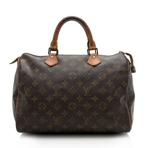 Louis Vuitton Vintage Monogram Canvas Speedy 30 Satchel - FINAL SALE