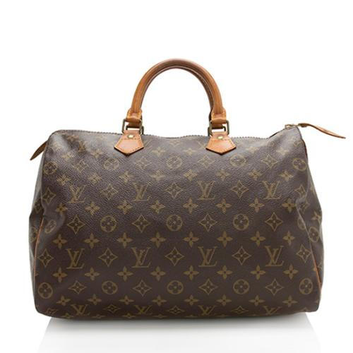 2eff0c4c7120 Louis Vuitton Vintage Monogram Canvas Speedy 35 Satchel