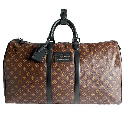 Louis Vuitton Waterproof Keepall 55 Duffel Bag
