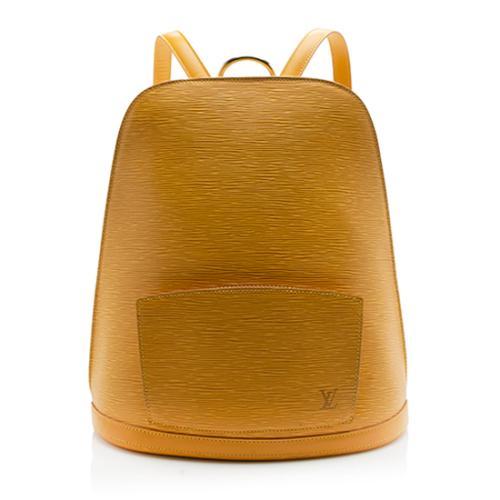Louis Vuitton Vintage Epi Leather Gobelins Backpack