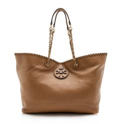Tory Burch Leather Marion Slouchy Tote