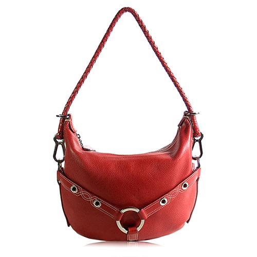 Luella Leather Hobo Handbag