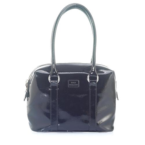Lulu Guinness Crinkle Patent Small Carmella