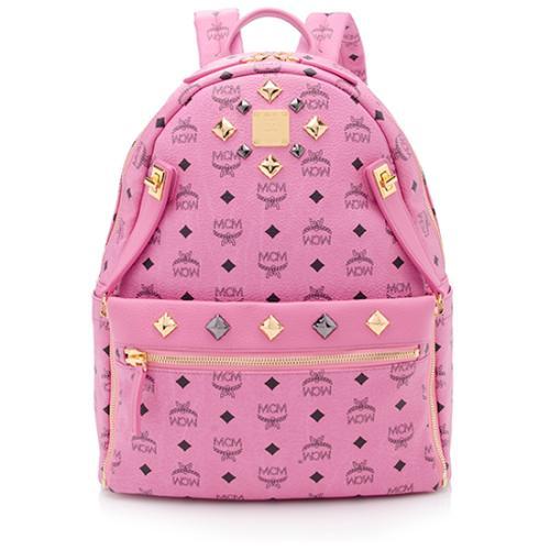 MCM Dual Stark Sprinkle Stud Medium Backpack