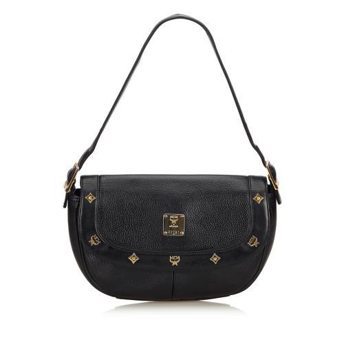 MCM Vintage Leather Charms Shoulder Bag - FINAL SALE