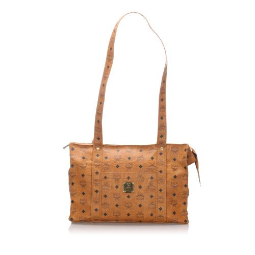 MCM Vintage Leather Visetos Tote