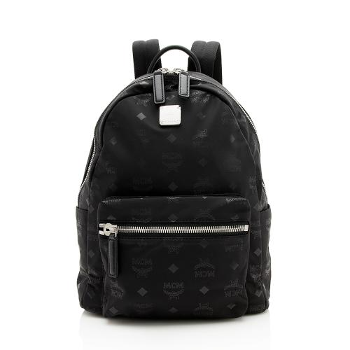 MCM Nylon Visetos Dieter Small Backpack