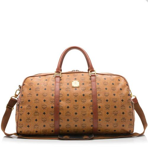MCM Vintage Visetos Duffel Bag
