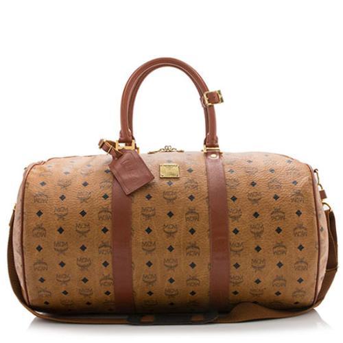 MCM Vintage Visetos Duffle Bag