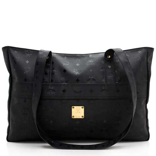 MCM Vintage Visetos Nylon Shoulder Bag