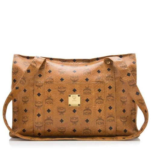 MCM Vintage Visetos Shoulder Bag