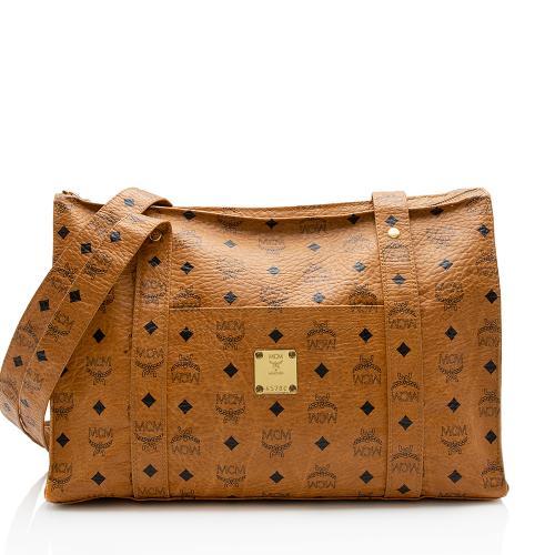 MCM Vintage Visetos Shoulder Bag