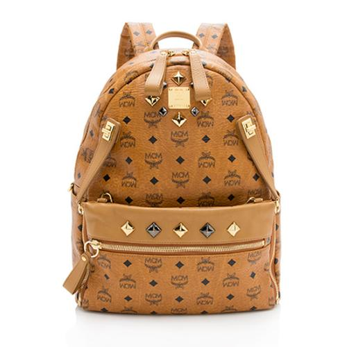 MCM Visetos Dual Stark Backpack