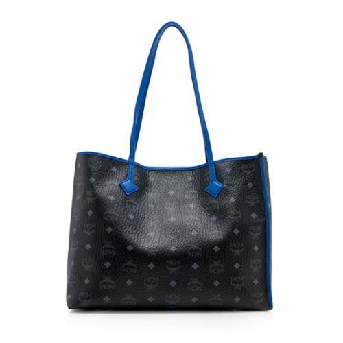 MCM Visetos Kira East/West Tote